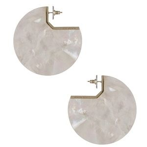 Kendra Scott Kai Gold/Ivory MOP Earrings. NWT.